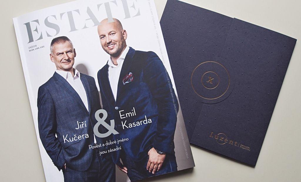 Exkluzivní rozhovor pro realitní magazín ESTATE